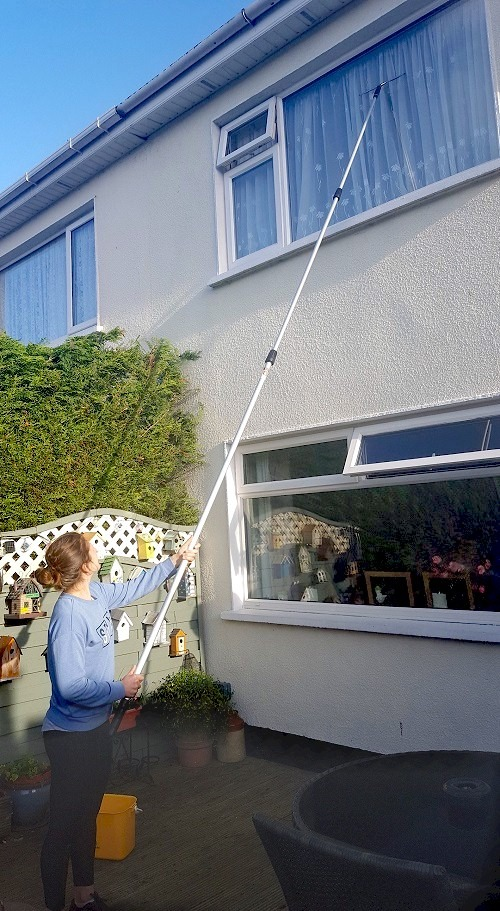 Telescopic Poles For Window Cleaning